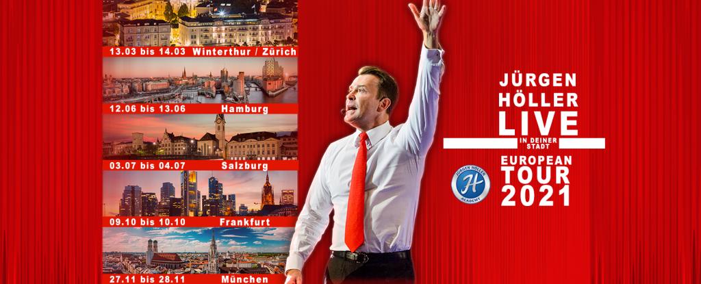 Alle Termine der Power Days 2021 von Jürgen Höller