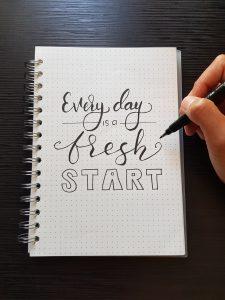 Durch eine positie Lebenseinstellung wird jeder Tag ein toller tag